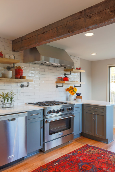 There is more to this kitchen than meets the eye.