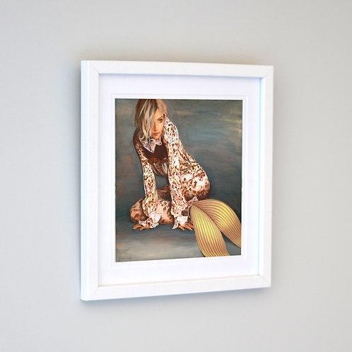 Sienna Mermaid Framed Print