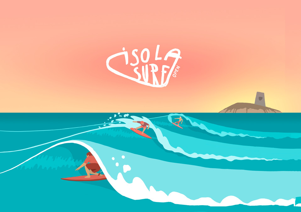 Isola Surf Open Graphic