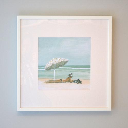 Sola Framed Print