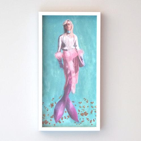 Ottanta Mermaid Framed Print