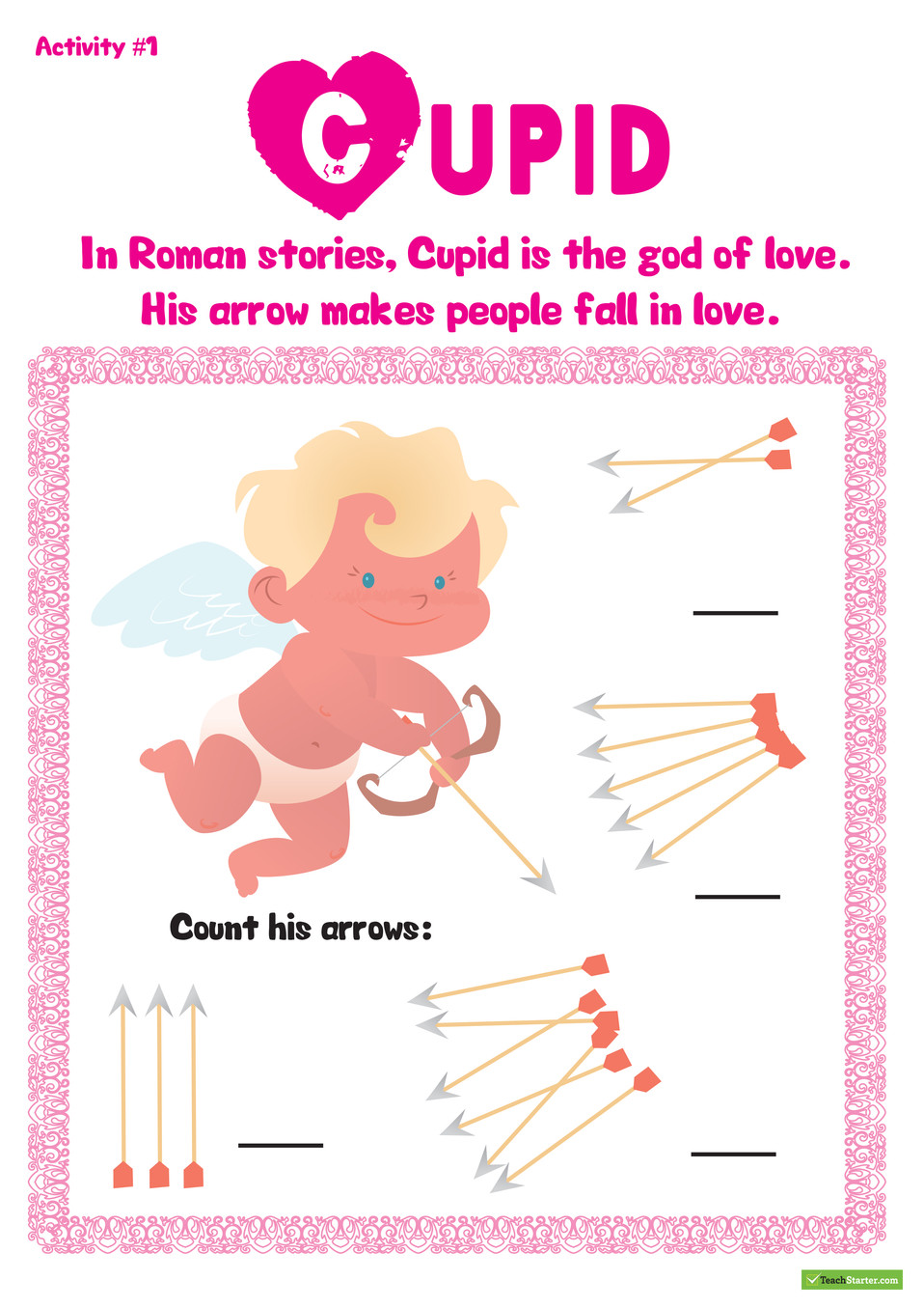 Valentines Resource Pack Worksheet