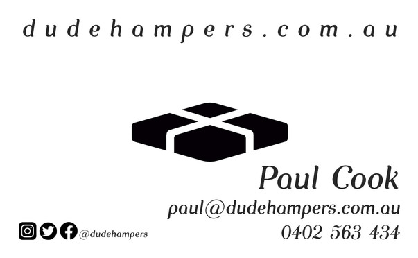 Dude Business Card
