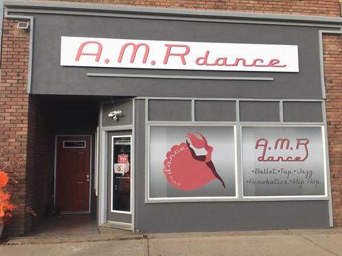 AMR Dance Signage