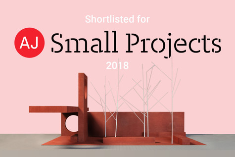 Respite Pavilion shortlisted for AJ Small Projects