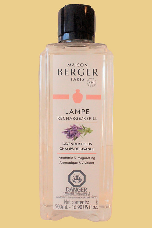 LAMPE REFILL LAVENDER FIELDS 500mL