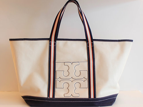 Tory Burch Beach Bag/ Large Tote