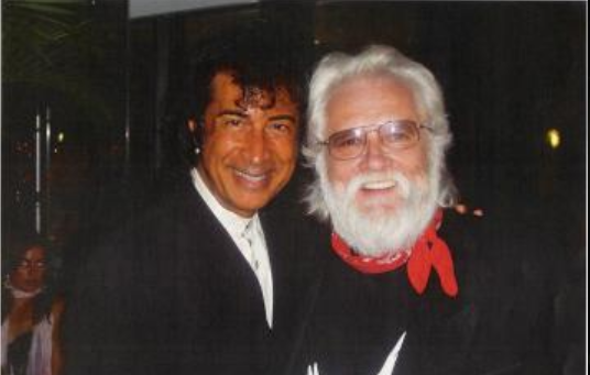with Ronnie Hawkins