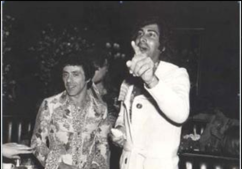 with Frankie Valli