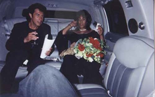 with Mary Wilson of The Supremes