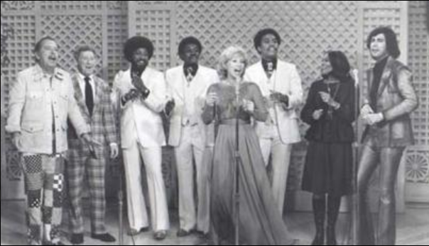 Tennessee Ernie Ford,The Pips, Dinah Shore & Dionne Warwick & Me