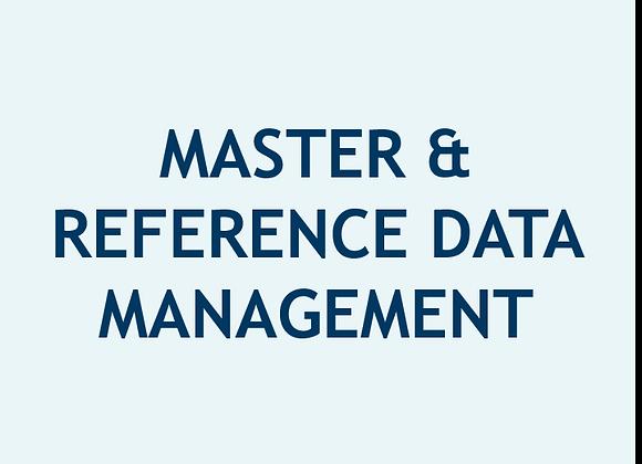 Gestión de Datos de Referencia y Datos Maestros (U$)