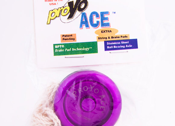 Ace I, 2-Tone Purple/Black in Soft package