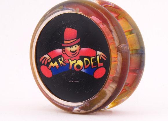 Higby multi-color Mr Yodel yoyo