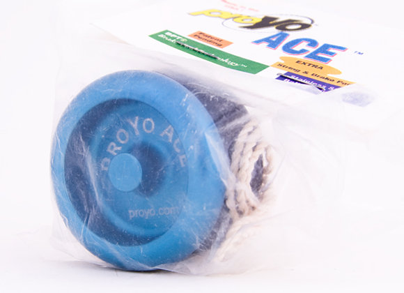 Ace I, 2-Tone Blue/Black in Soft package
