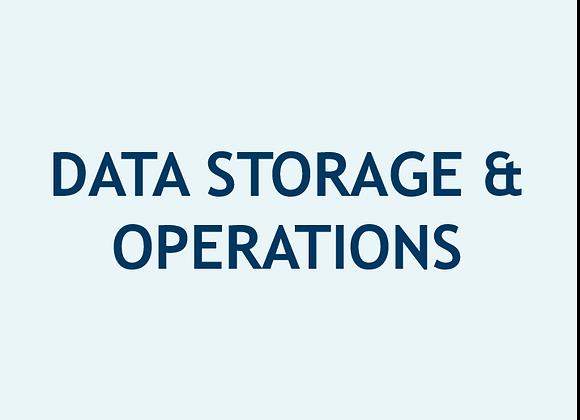 Operación y Almacenamiento de Datos (U$)