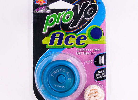 Ace I, 2-Tone Blue/Black in Hard package