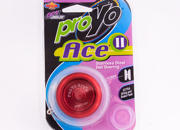 Ace II, Red/Red in Hardback package