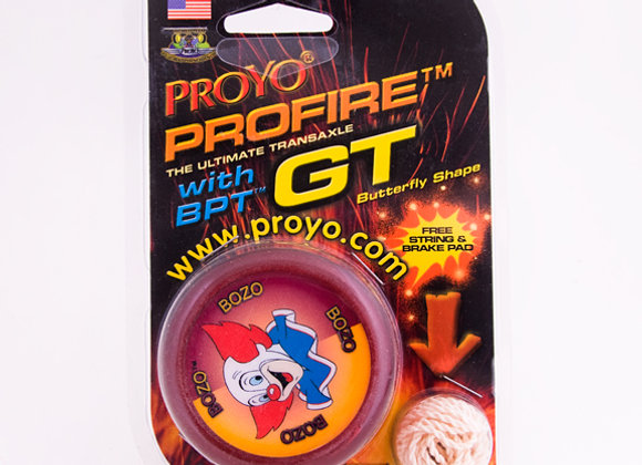 Special Edition Bozo the Clown Profire GT in Hardback package.