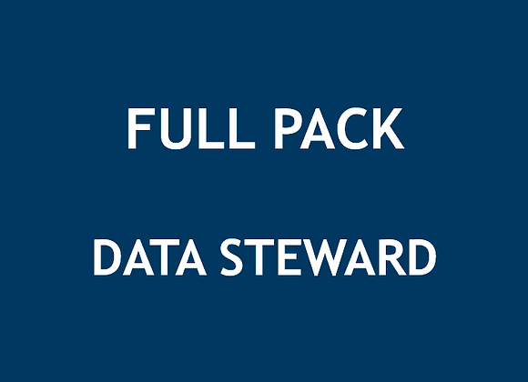 Full Pack Data Steward (U$)