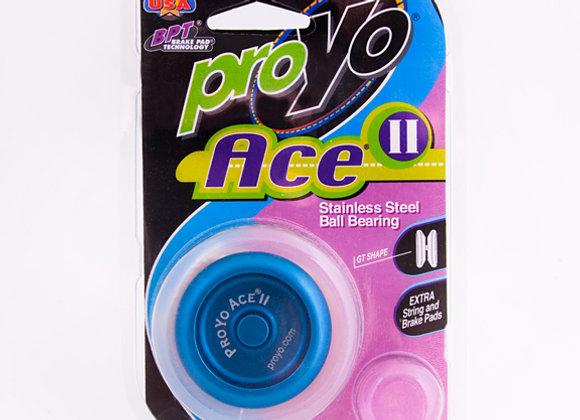 Ace II, 2-Tone Blue/Black in Hardback package