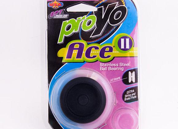 Ace II, Black/Black in Hardback package