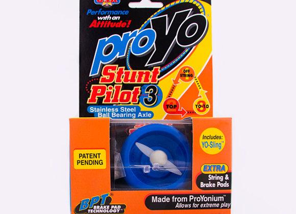 Blue Stunt Pilot in Hardcase/Display Cover