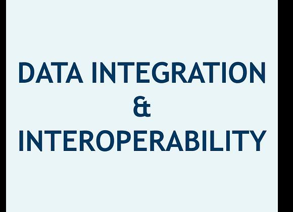 Integración e Inter - Operabilidad de Datos (U$)