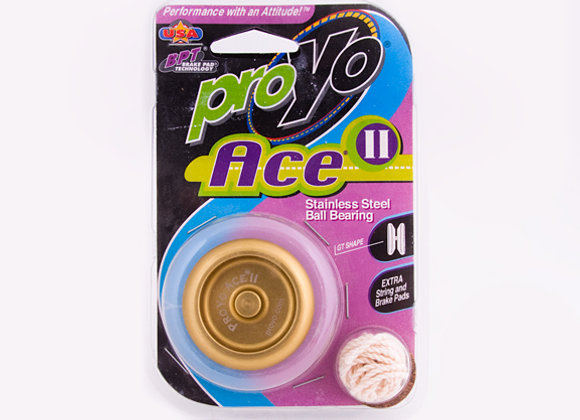 Ace II, 2-Tone Gold/Black in hardback package