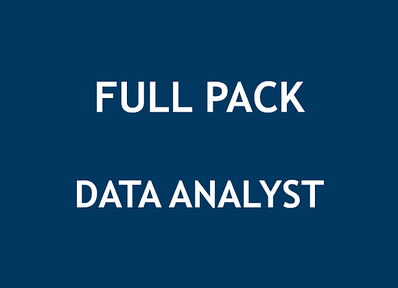 Full Pack Data Analyst (U$)