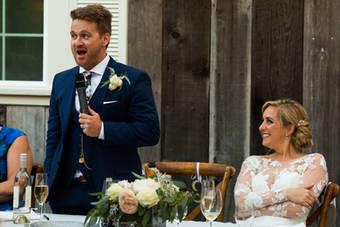 Mountain House Estate Wedding Reception-