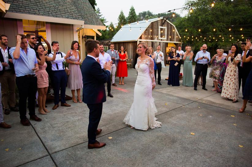 Mountain House Estate Wedding First Danc