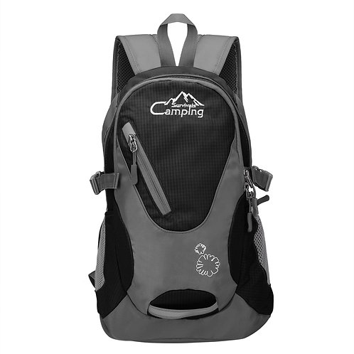 Camping & Hiking Sport Backpack Black
