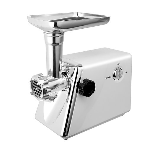 Electric Meat Grinder & Sausage Maker in White