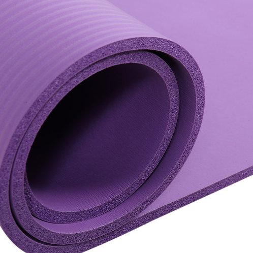 10mm Thick Purple Anti-skid Yoga Mat 183x61x1cm