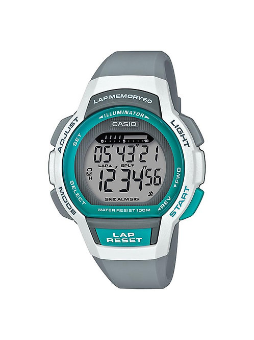 Casio Womens Step Tracker Series and 60 Lap Memory Watch