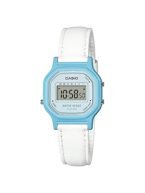 Casio Women's 'Classic' Quartz Resin Casual Watch (Blue)