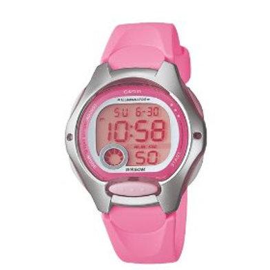 Casio Women's Pink Resin Digital Watch