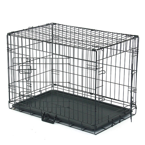 """30"""" Metal Folding Pet Kennel and Animal Crate"""