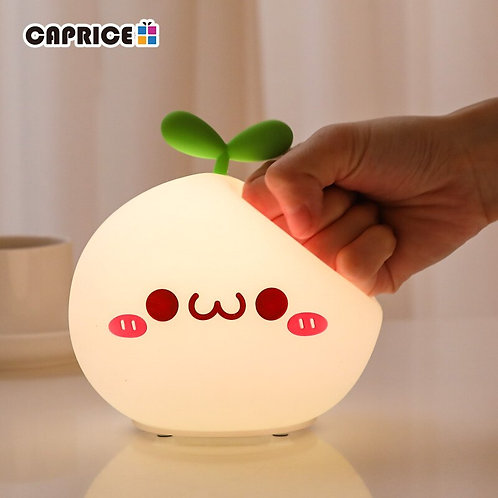 Soft Silicon Touch LED Night Light Lamp