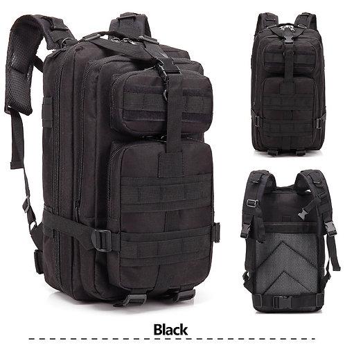 Tactical Rucksack in Black
