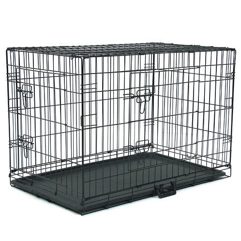 """36"""" Metal Folding Pet Kennel and Animal Crate"""