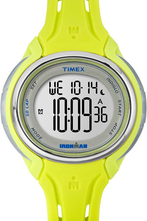 Timex Women's Ironman Sleek 50 Round Resin Watch