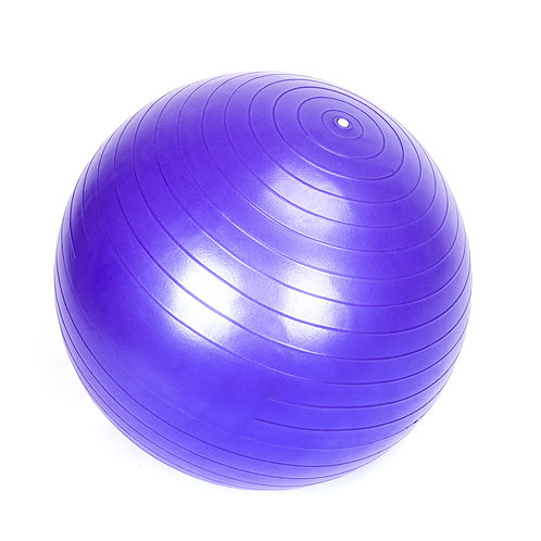 Thick Yoga Ball Smooth Surface in Purple