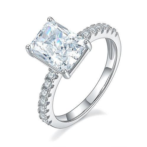 3 Carat CZ Engagement Ring