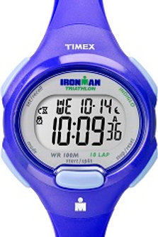 Timex Women's Ironman Blue 10 Lap Sport Watch