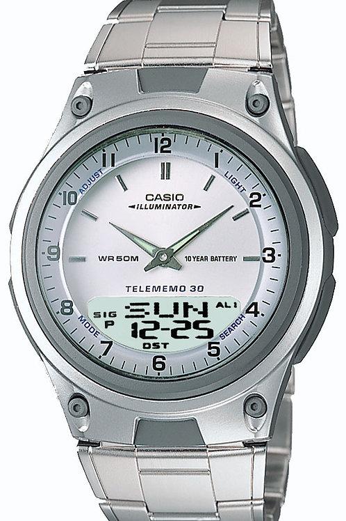 Casio Men's Sports Chronograph Alarm Databank Watch