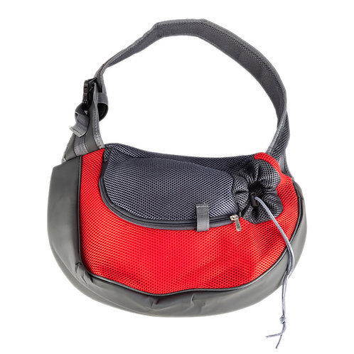 Pet  Carrier Travel Tote Bag in Red