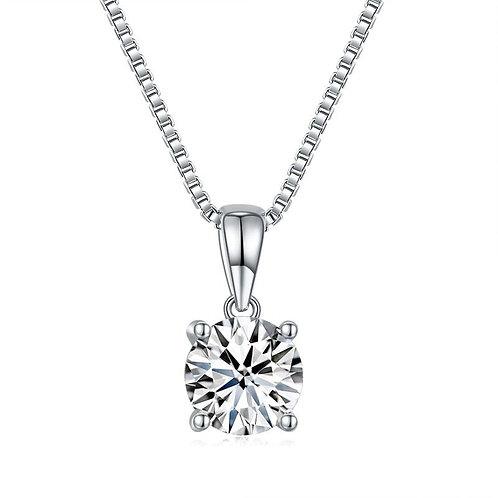 1 Carat Diamond Pendant Necklace