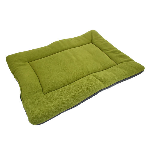 Washable Soft Comfort Bed Pets in Green Large